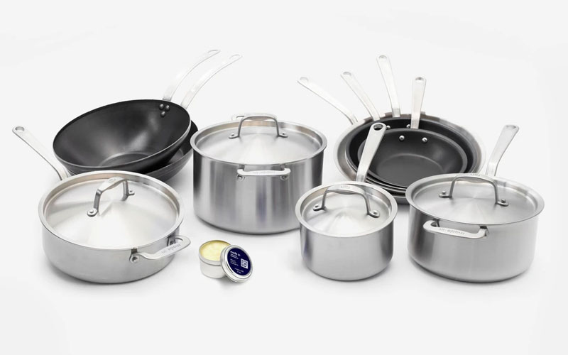 Overview of Made In's Cookware