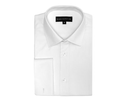 Dress Shirt With French Cuffs In White Review
